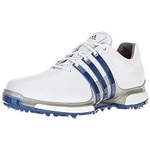 Adidas Men S Tech Response Cblack Ftww Golf Shoe