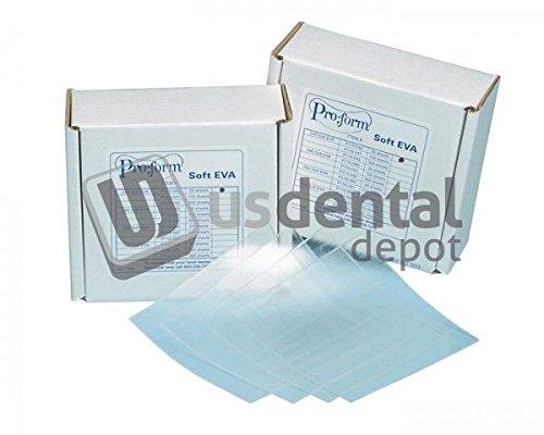 KEYSTONE - Soft Eva - .080in ( 2mm ) - 300pk - 5in x 5in sheets - CLEA 034-1570186 Us Dental Depot