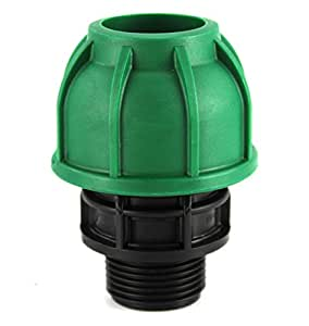 'Racor de compresión 20x 1/2M verde–PN10