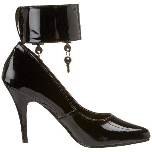 Color Vanity Donna Talla 39 434 Col Classiche Pat blk Pleaser Scarpe Nero Tacco 0Yd6Pq6a