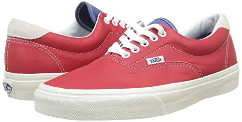 UK Adulto Color Era 7 Vans 59 US Vintage Unisex Zapatillas Talla 8 Rojo EU 5 40 Sport wX6wFIq