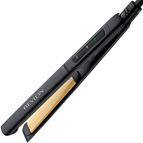 Revlon Perfect Straight Smooth Brilliance Ceramic Flat Iron, 1 inch