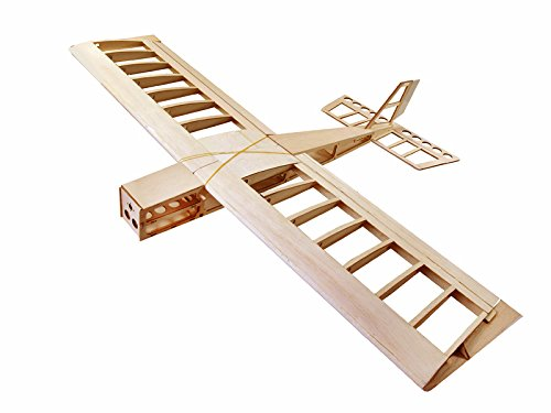 DW Hobby RC Airplane 4CH Radio Remote Controlled Electronic Aircraft Big Stick Wingspan1060mm Balsa Wood Model Plane Building Kit