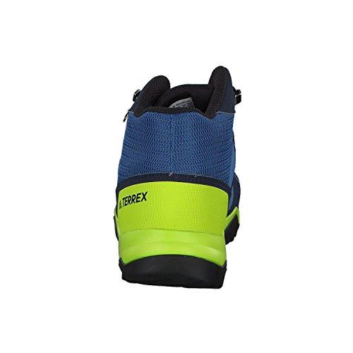 adidas Terrex Mid GTX K, Botas de Senderismo Unisex Niños Azul (Azretr / Maruni / Limsol 000)