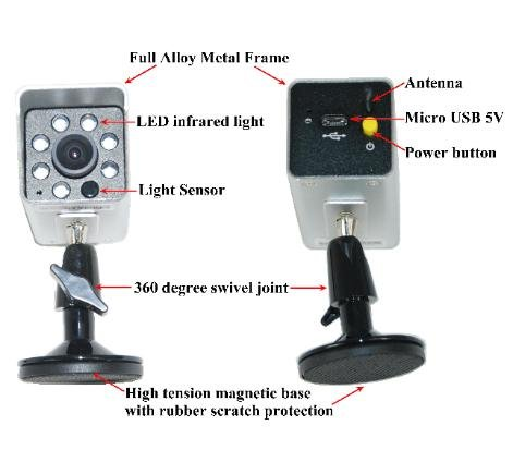 4UCam Portable WiFi Backup Camera for iPhone/iPad and Android by 4UCam (Image #3)