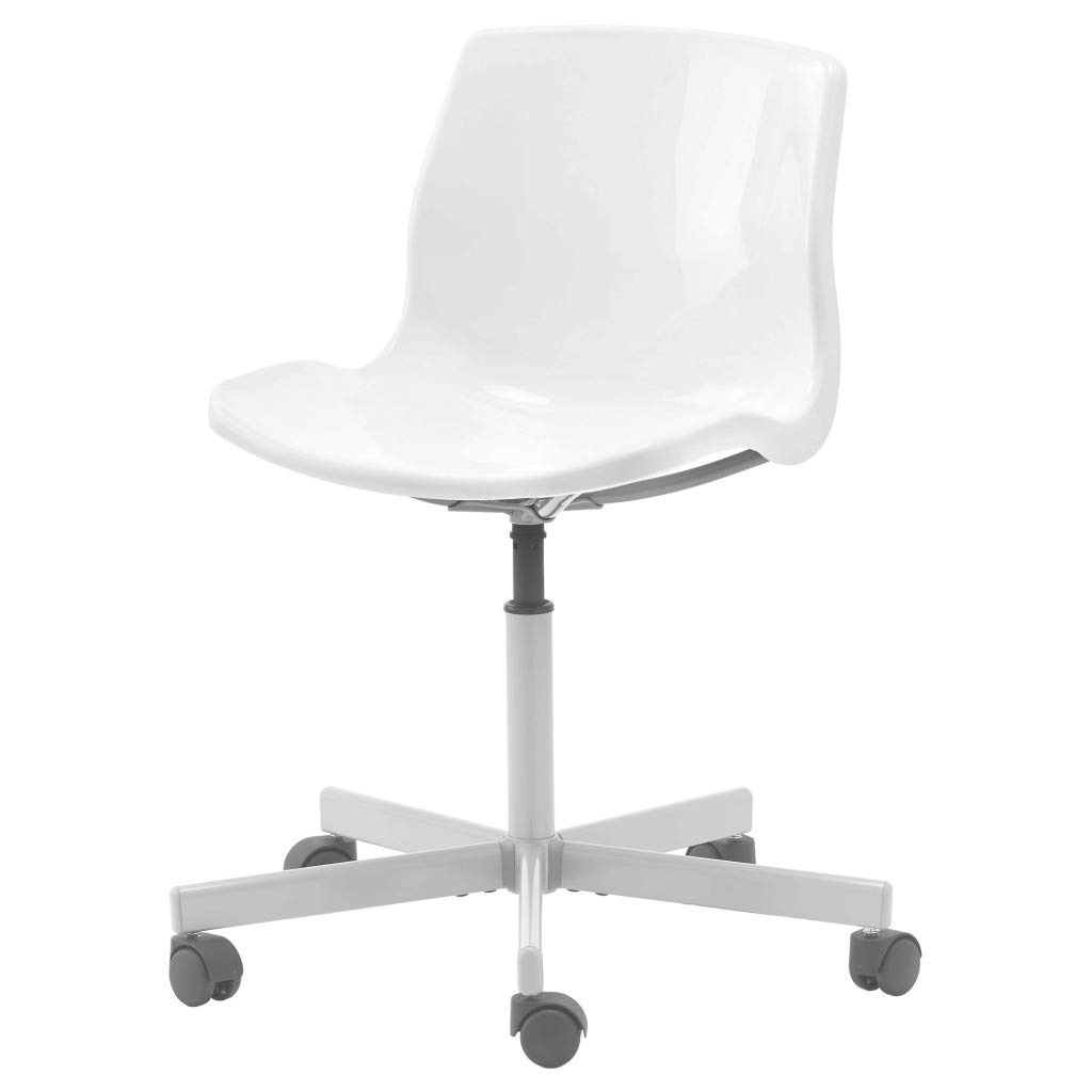 IKEA SNILLE Swivel Chair (White) : Amazon.in: Furniture