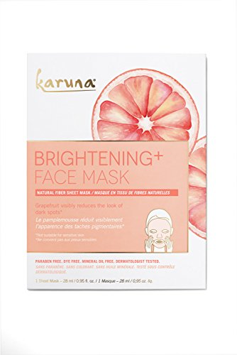 Mask Single (Karuna Single Brightening + Face Mask, 0.95 fl. oz.)