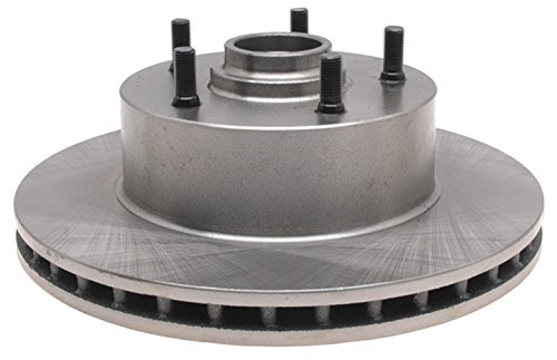 ACDelco 18A807A Advantage Non-Coated Front Disc Brake Rotor and Hub Assembly