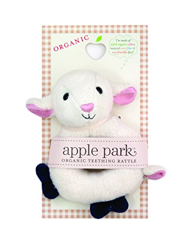 Lamb Apples (Apple Park Teething Rattle, Lamby)