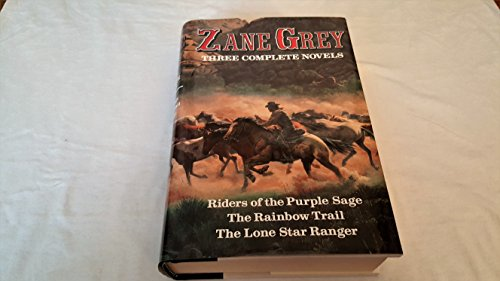 Zane Grey: Three Complete Novels (R) for sale  Delivered anywhere in Canada