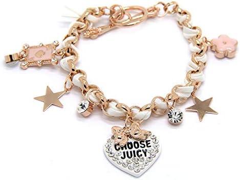 HQY Fashion Armband Echt Goud vergulde Sieraden Prinses Fan Armband Armband