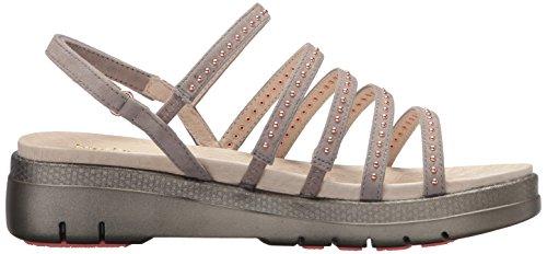 Delle Sandalo Taupe Luce Eleganza Donne Jambu q65fZ7cOwt