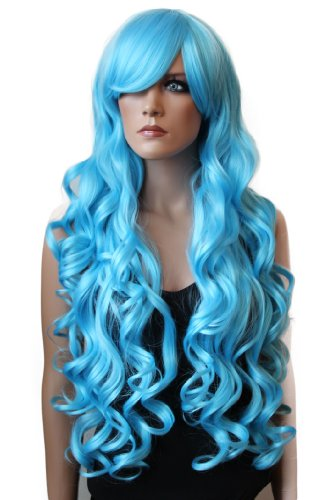 Long Turquoise Wig (PRETTYSHOP 31