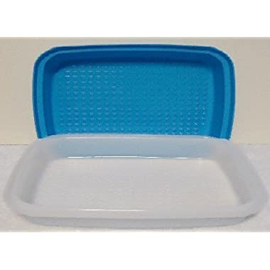 Tupperware Season Serve Jr Marinader Container Blue