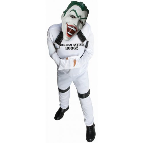 DC Super Villain Collection Joker Straight Jacket Costume, Medium