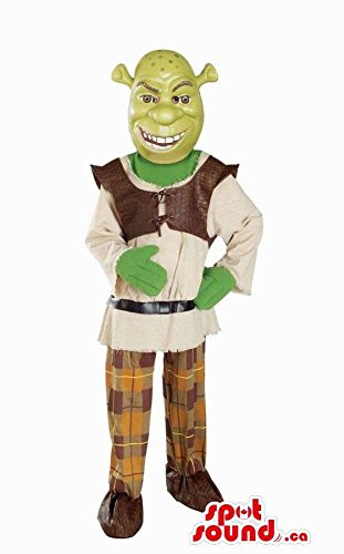 Shrek The Green Ogre Well-Known Movie Character Mascot SpotSound US