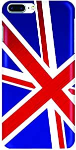 Stylizedd Apple iPhone 7 Plus Slim Snap case cover Matte Finish - Flag of UK