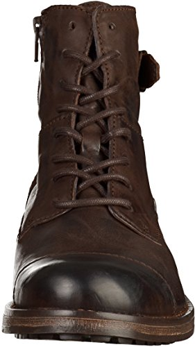 Mustang - botines de caño bajo Hombre marrón oscuro