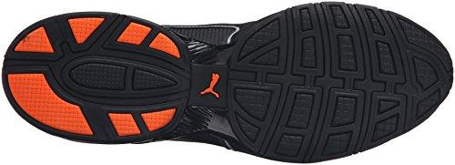 puma Black Asphalt Baskets shocking Homme Orange Black red Puma Mode Pour Noir I87Iq6
