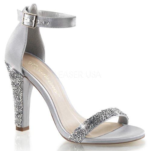 Argento silver Fabulicious Donna Sandali Satin qOxvPg