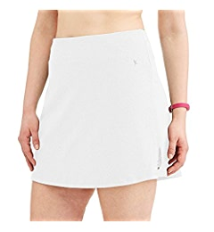 4d012734bf1 Danskin Now Women s Plus Size Activewear Athletic Cotton Blend Skort Skirt  with Built in Shorts (Heather Grey