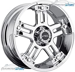 V-TEC Warlord 394 Chrome Rear Wheel (17x8.5\