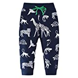 ACESTAR Boys Pants Active Long Casual Camouflage Sports Sweatpants Autumn Winter Clothing (3T, Boys)