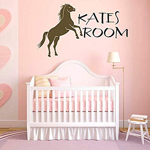 Prancing Horse Mens - Prancing Horse Girls Bedroom Decal Wall Decals Decor Vinyl SK735
