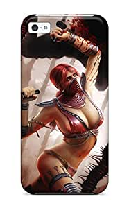 Lucas B Schmidt's Shop Lovers Gifts High Quality Skarlet In Mortal Kombat Skin Case Cover Specially Designed For Iphone - 5c