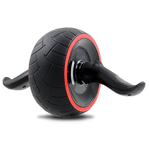 Alodor Roller Wheel, Fitness Wheel & Abdominal Build To Workout, Exercise & Strengthen Your Abs & Core - Plus, Get A FREE Pro Knee Mat To Supplement Your Training