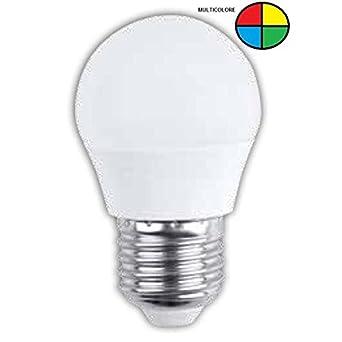 Prilux deco - Lámpara essense ballbasic 1,5w e27 multicolor: Amazon.es: Iluminación