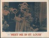 MEET ME IN ST. LOUIS original MGM lobby card JUDY