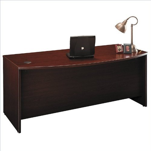 BSHWC36746 - Bush 72amp;quot; W Bow Front Desk Shell Series C