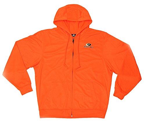 Men's Mossy Oak Full Zip Hoodie (XL) Orange