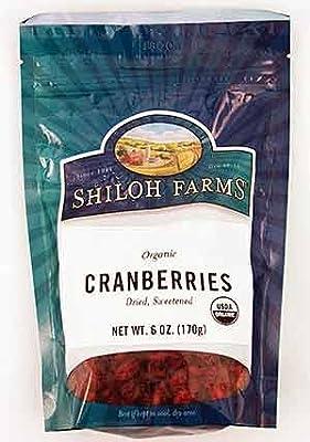Shiloh Farms Organic Cranberries -- 6 oz