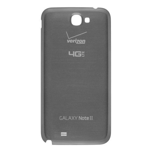 (Chromo Inc® Replacement Battery Back Door Cover For Samsung Galaxy Note 2 II i605 Verizon 4G - Titanium Grey - Non Retail Packaging)