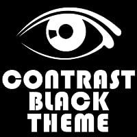 Contrast Black Go Launcher Theme