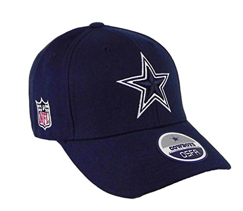 NFL Dallas Cowboys Navy Blue Basic Logo Adjustable Hat