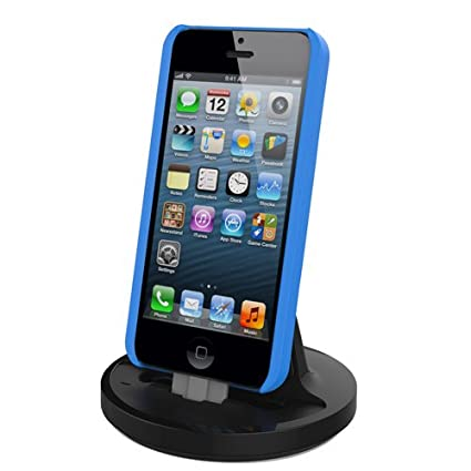 Black Compatible with Some Phone Cases. RND Apple Certified Lightning to USB Dock for The iPhone 6//6 Plus // 6S// 6S Plus// 5 // 5S // 5C or iPod Touch Data Sync and Charge 8-Pin Dock