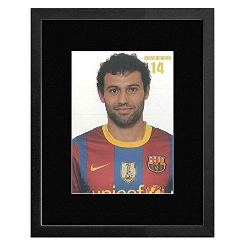 Stick It On Your Wall FC Barcelona - 14 Mascherano Framed Mini Poster - 22.7x17.5cm