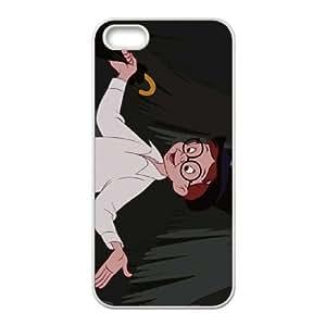 Disney Peter Pan del personaje John Darling, iPhone 5 5s caja del teléfono celular funda blanca del teléfono celular Funda Cubierta EEECBCAAC08207