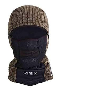 Temperature Display Winter Warm Thermal Fleece Mask Hat