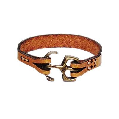 AUTHENTIC HANDMADE Leather Bracelet, Men Women Wristbands Braided Bangle Craft Multi [SKU002025]