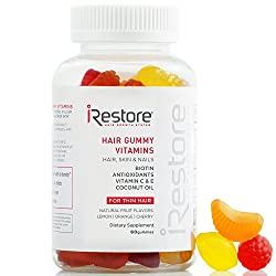 Rejuvenate your health and beauty from the inside out with a hair vitamins gummies supplement you can look forward to taking every day. iRestore Hair Gummy Vitamins were conceived by a team of health and beauty professionals in Los Angeles who dreame...