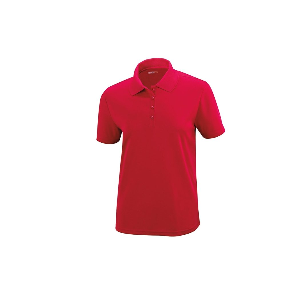 Ash City Ladies Origin Core 365 Performance Polo (XXX-Large, Classic Red) by Ash City Apparel