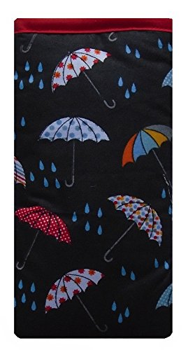 Rainy Day Umbrellas Print Apple iPhone SE sock / Case / Cover / Pouch