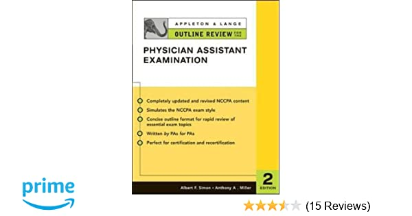 Appleton & Lange Outline Review for the Physician Assistant ...