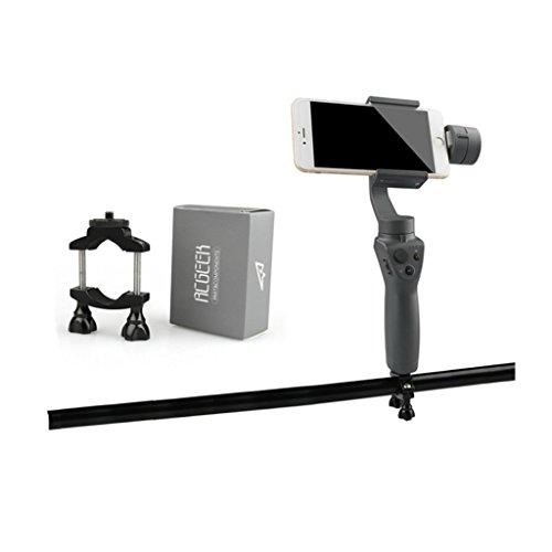 Hensych バイクマウント 自転車用 ブラケット ホルダー スタンド ハンドルバー クランプ ジンバル ハンドヘルド 4K カメラ アクセサリーfor DJI OSMO Mobile 2
