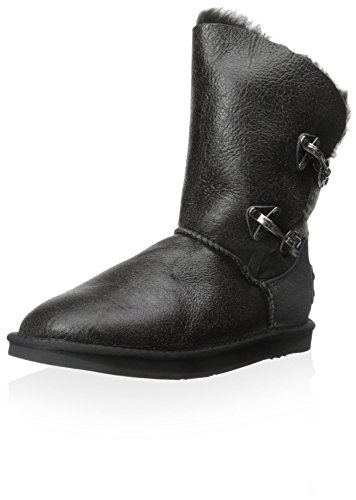 Reneade Boot Distressed Collective Luxe Black Women's Australia wq8t7Z