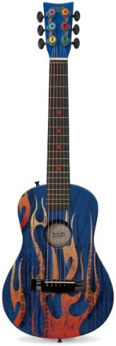 First Act Discovery FG3706 Blue Fire Tire Acoustic Guitar